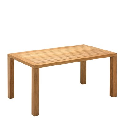 Square XL 92cm x 158cm Table - Natural Teak