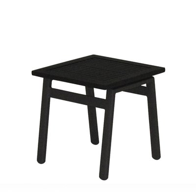 Azore Side Table - Alu Top (Meteor)