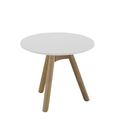 Dansk Side Table - White Acrylic Stone Top