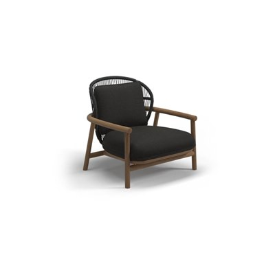 Low Back Lounge Chair - Meteor/Raven