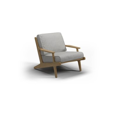 Bay Teak Lounge Chair - Seagull