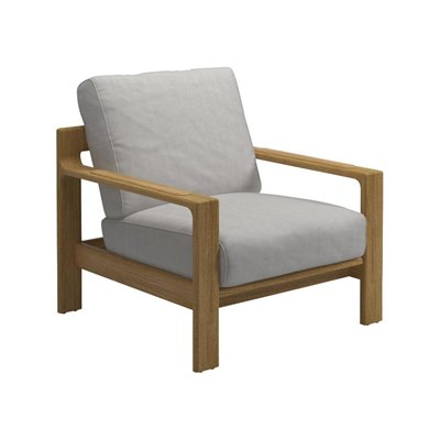 Loop Lounge Chair - Buffed Teak
