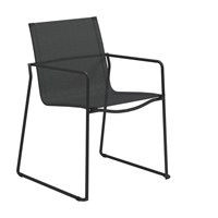 3800MAN Asta Stacking Chair with Arms (Meteor / Anthracite)