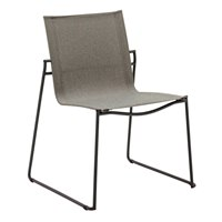 3801MGN Asta Stacking Chair (Meteor / Granite)