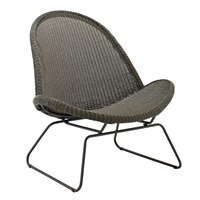 7810ML Bepal Lounge Chair (Meteor / Licorice)